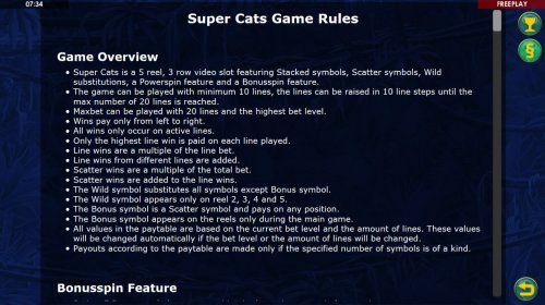Images of Super Cats