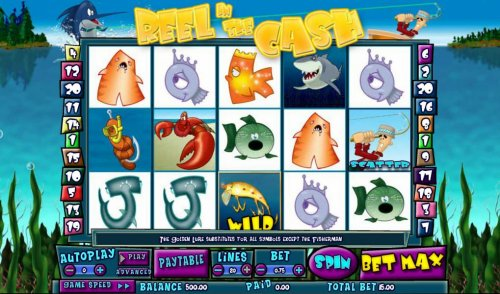 Reel in the Cash 20 line by Hotslot