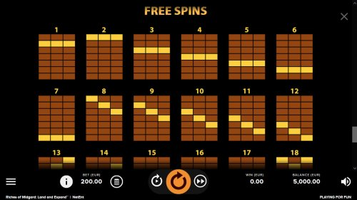 Free Spins Paylines - Hotslot