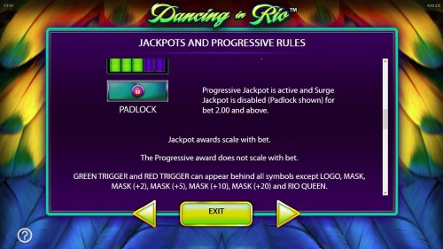 Jackpot and Progressive Rules. - continued by Hotslot