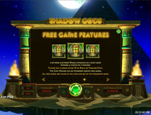 Images of Shadow Gods