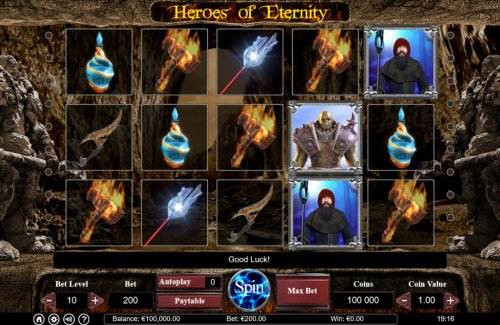Heroes of Eternity by Hotslot