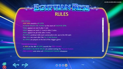 Egyptian Rise by Hotslot