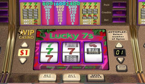 Hotslot image of Lucky 7's