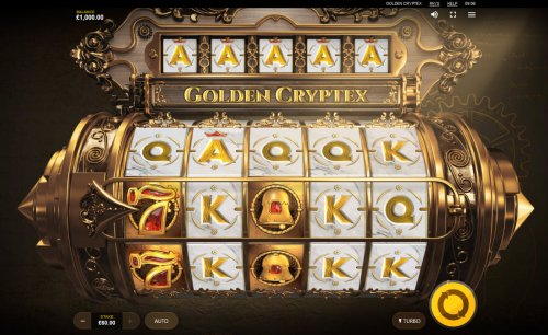 Golden Cryptex by Hotslot