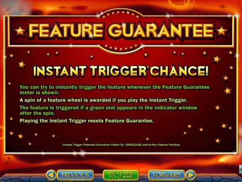 Instant Trigger Chance Rules - Hotslot