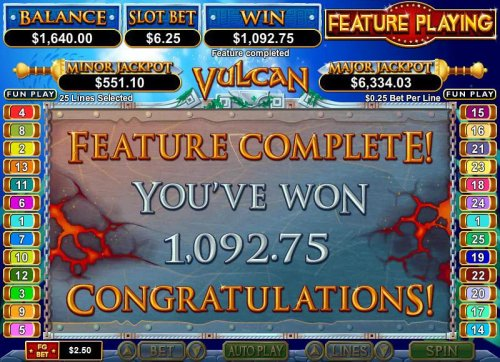 Hotslot - free spins feature pays out $1092 big win