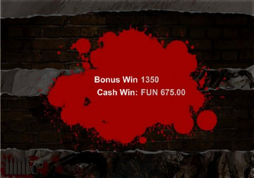 Bonus game pays out a total of $675 for a big win. - Hotslot