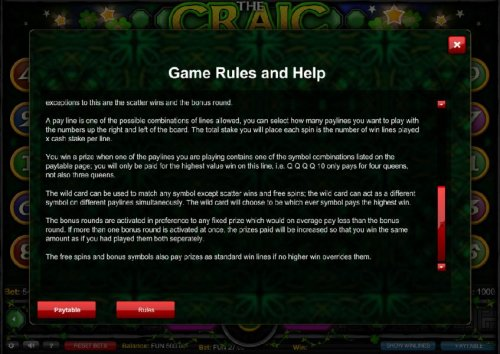 Game Rules and Help - Part 2 by Hotslot