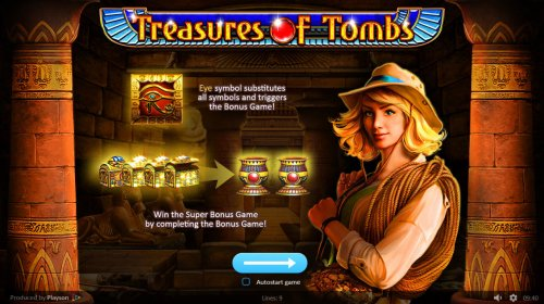 Treasures of Tombs by Hotslot