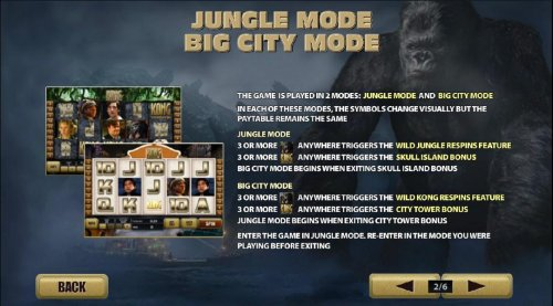 jungle mode and big city mode by Hotslot