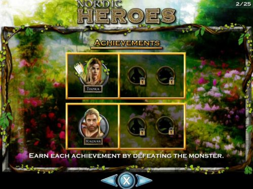 Earn each achievement by defeating the monsters. - Hotslot