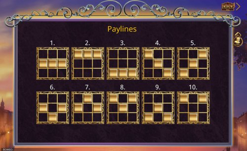 Paylines 1-10 by Hotslot