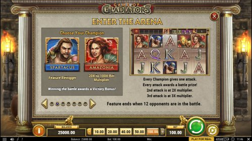 Game of Gladiators by Hotslot