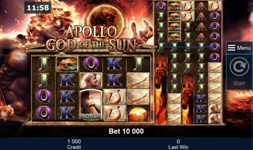 Images of Apollo God of the Sun