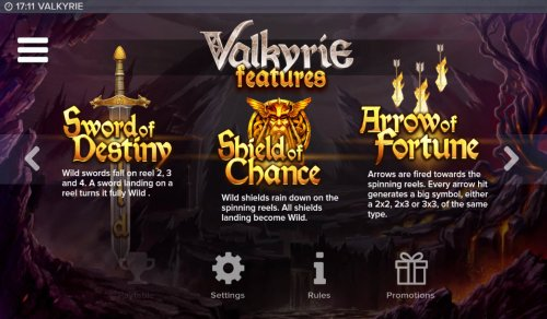 Hotslot image of Valkyrie