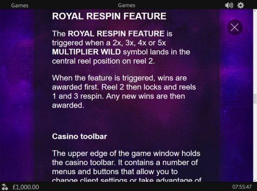 Royal Respin Deluxe by Hotslot