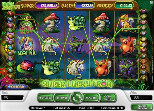 Super Lucky Frog by Hotslot
