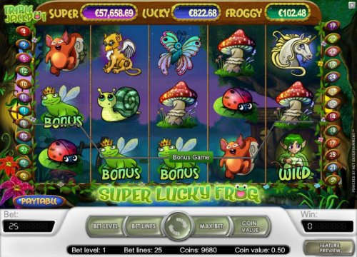 Hotslot image of Super Lucky Frog