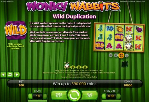 wild duplication rules by Hotslot