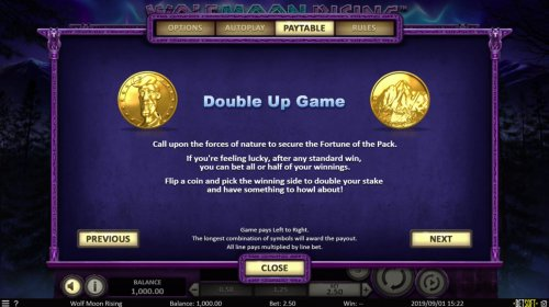 Double Up Game - Hotslot