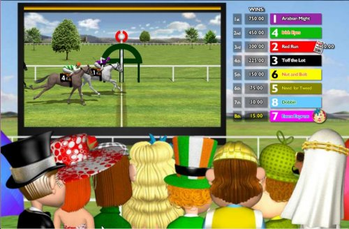 the number 1 horse finishes the race first by Hotslot