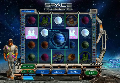 Space Robbers screenshot